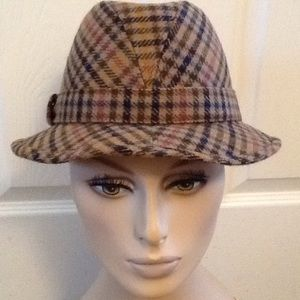 COPY - OLNEY HEADWEAR VINTAGE  HOUNDSTOOTH HAT …